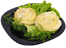 Manti (dumpling) Royalty Free Stock Image