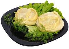 Manti (dumpling) Royalty Free Stock Image