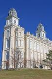 Manti Temple, Utah Royalty Free Stock Photo