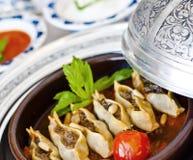 Manti, Turkish ravioli Royalty Free Stock Photo