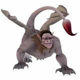 Manticore - Fantasy Monster Royalty Free Stock Photography