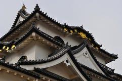 Mantiene del castillo de Hikone (Hikone Jo) Imagen de archivo
