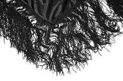 Mantilla, typical spanish scarf Royalty Free Stock Images
