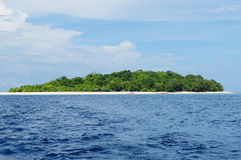 Mantique海岛,菲律宾 库存图片