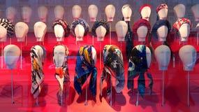 Mantones y bufandas 2015 Fotografía de archivo