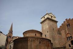 Mantova. Historic buildings in Mantova, Lombardia, Italy Royalty Free Stock Photos