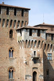 MAntova castle. A view of Mantova castle in Lombardy - Italy Stock Photography