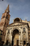 Mantova Cathedral Stock Images