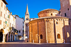 Mantova city Piazza delle Erbe view. European capital of culture and UNESCO world heritage site, Lombardy region of Italy Stock Photo