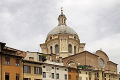 Mantova, Dome of Basilica di Sant Andrea, Italy Royalty Free Stock Photography