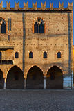Mantova ducal palace facade Royalty Free Stock Photos