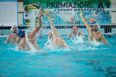 MANTOVA - 19. FEBRUAR: Andrea Razzi (Mitte) und F Di Fulvio stockfoto