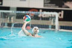 MANTOVA - 19. FEBRUAR: Nehmenth Filipovic (BPM-Sport-Management) Lizenzfreie Stockfotografie