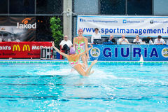 MANTOVA - 19. FEBRUAR: Synchronisierter Schalter BPM-Sports Management Stockfotos