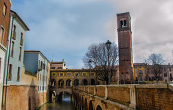 Mantova foreshortening Stock Image