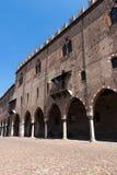 Mantova gammal Town Arkivfoto