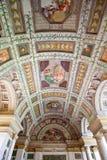 The historic places of Mantova. Mantova, Italy -  August 1, 2011:  The Davide Arcade of Palazzo Te Stock Image
