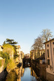 Mantova and its canal Royalty Free Stock Photography