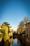 Mantova and its canal Royalty Free Stock Photo