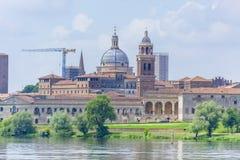 Mantova Lombardia, Italia in primavera fotografia stock libera da diritti