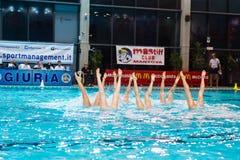 MANTOVA, LUTY - 19: BPM sporta zarządzanie Synchronizujący sw Obrazy Stock