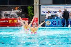 MANTOVA, LUTY - 19: BPM sporta zarządzanie Synchronizujący sw Fotografia Royalty Free