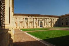 Mantova (Mantua), Italia. Palazzo Te Imagenes de archivo