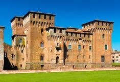 Mantova Mantua, Italy: View of the `Castello di San Giorgio` medieval castle. One of the main landmarks in the city. Mantova Mantua - July 2017, Lombardy Stock Photo