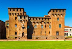 Mantova Mantua, Italy: Saint George Castle. Mantova Mantua - July 2017, Lombardy, Italy: Saint George Castle Royalty Free Stock Images