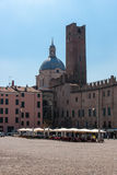 Mantova Old Town Stock Image