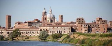 Mantova, orizzonte Immagine Stock