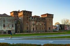 Mantova saint george castle. Saint george castle in the city of mantova Royalty Free Stock Photo