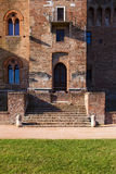 Mantova saint george castle doorway. View Stock Photo