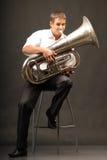 manträblåsinstrument Royaltyfri Fotografi