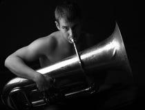 manträblåsinstrument Arkivfoton