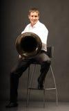 manträblåsinstrument Royaltyfria Bilder