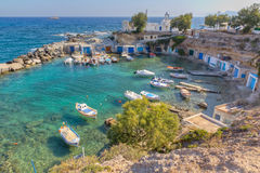 Mantrakia, Milos island, Cyclades, Greece Stock Photography