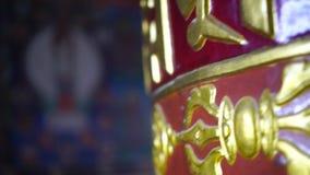 Mantras budistas para el sanscrit de Tíbet del rezo metrajes