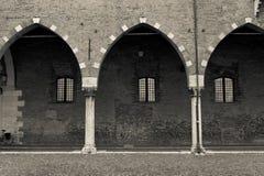 mantua Италии зодчества типичное стоковое изображение rf