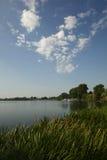 Mantua更低的湖,意大利 库存图片