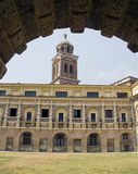 Mantua. Part of the Ducal Palace complex, the Castle of San Giorgio was erected between 1395 and 1406 to designs by Bartolino da Novara. It it best known for stock image