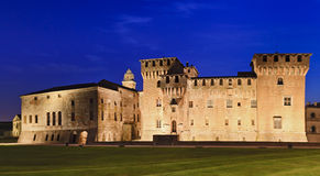 Mantua Castle Facade Set Stock Photography