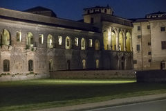 Mantua, castle of Gonzaga Stock Image