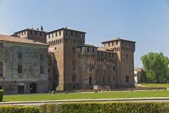 Mantua, castle of Gonzaga Stock Image