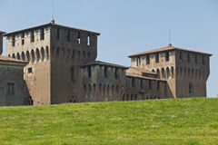 Mantua, castle of Gonzaga Royalty Free Stock Image