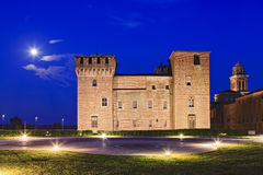 Mantua Castle Side Set Stock Photography