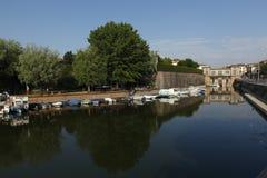 Mantua, Catena-Hafen Italien Lizenzfreies Stockfoto