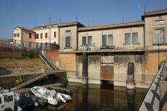 Mantua, Catena-Hafengebiet, Italien Lizenzfreies Stockbild