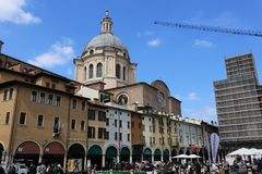 Mantua. Is a city and comune in Lombardy, Italy, and capital of the province of the same name Stock Photography