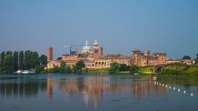 Mantua, горизонт дома города Gonzaga Dinasty стоковая фотография
